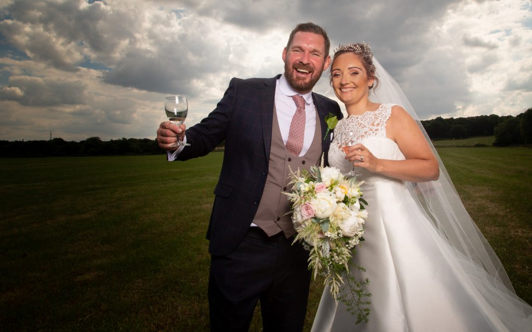 Michael & Louisa – St Helens Church Low Fell & Marquee in Lamesley